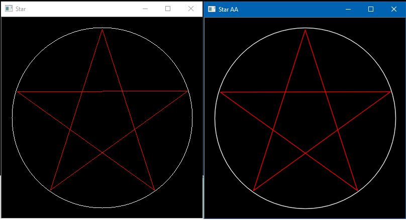 opencv draw simple polygon