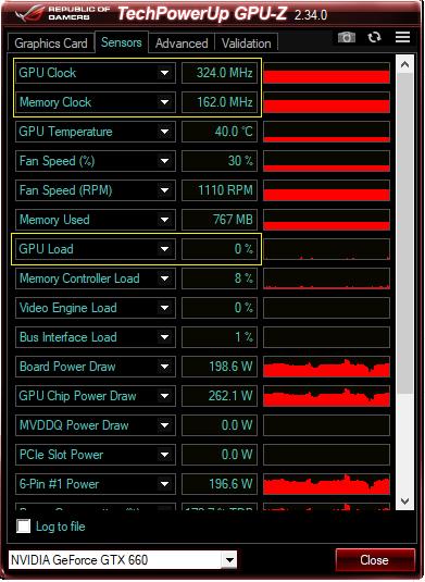 GPU-Z xem thông số của GPU